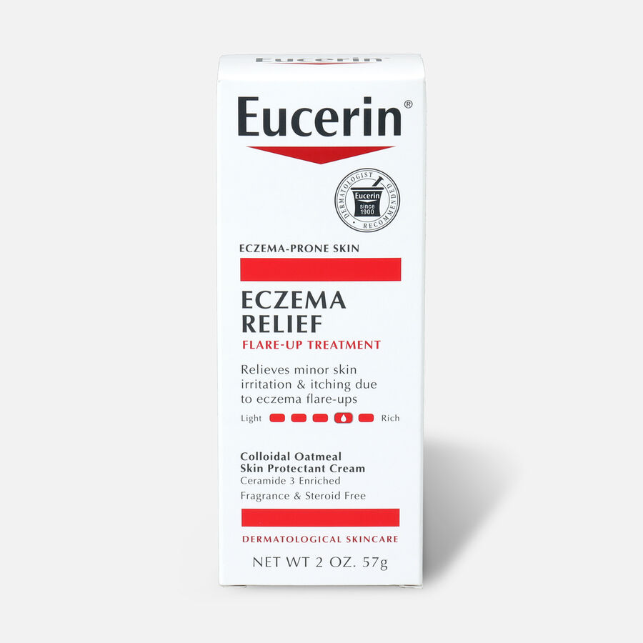 Eucerin Eczema Relief Flare-Up Treatment, 2oz., , large image number 0