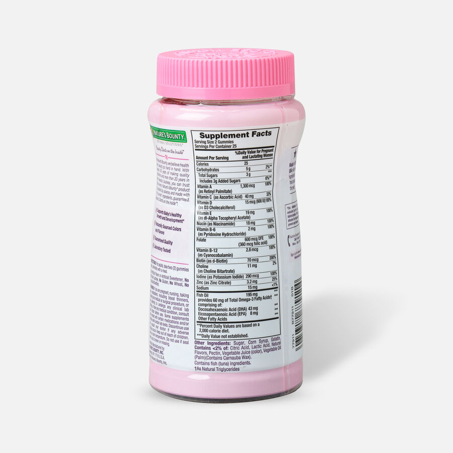 Optimal Solutions Essential Prenatal Gummies, 50 Ct, , large image number 1