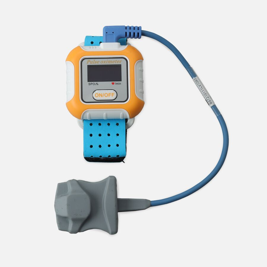Caring Mill™ Deluxe Wrist Oximeter, , large image number 0