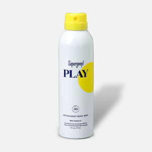 Supergoop! PLAY Antioxidant Body Mist SPF 30 with Vitamin C, 6oz.