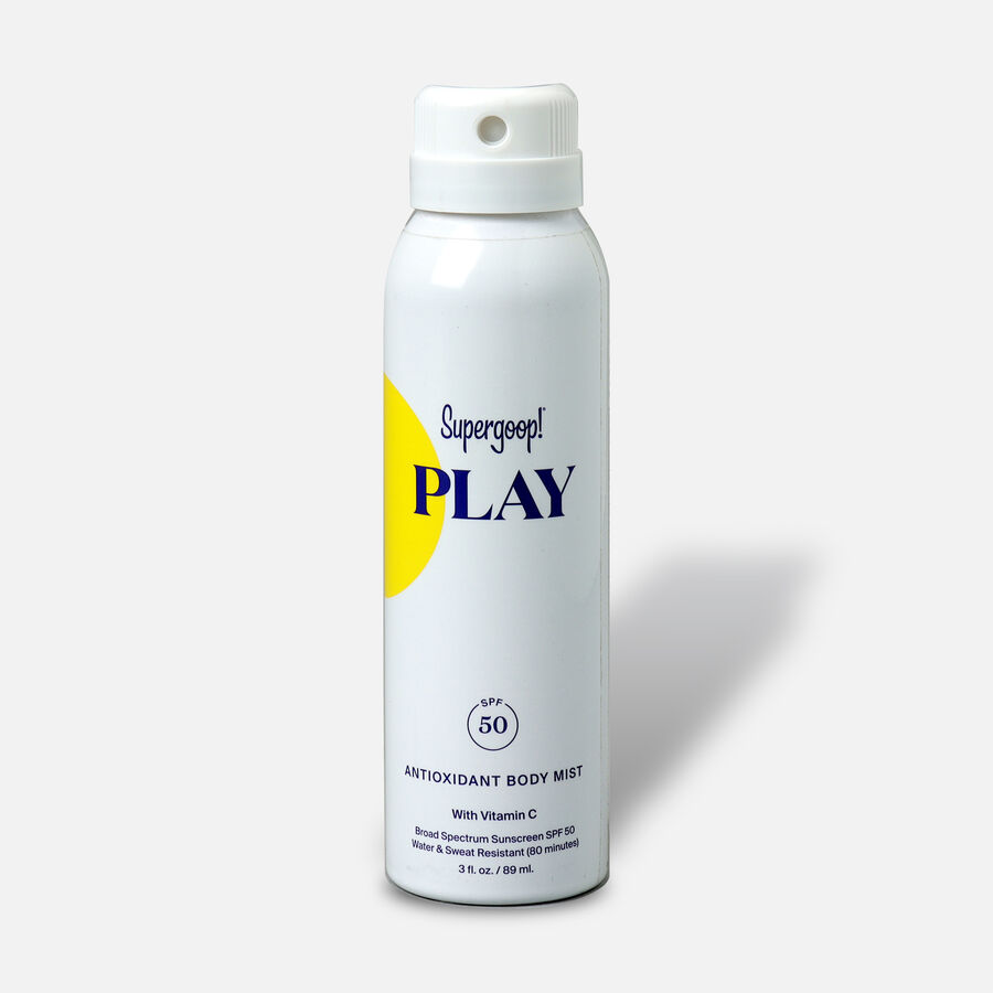 Supergoop! PLAY Antioxidant Body Mist SPF 50 with Vitamin C, , large image number 0