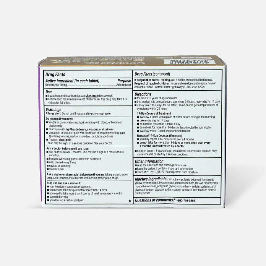 GoodSense® Omeprazole Delayed Release Tablets 20 mg, Acid Reducer, , large image number 4