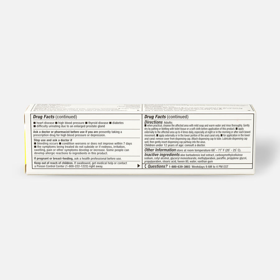 LEADER™ Hemorrhoidal Cream Maximum Strength 1 oz, , large image number 3