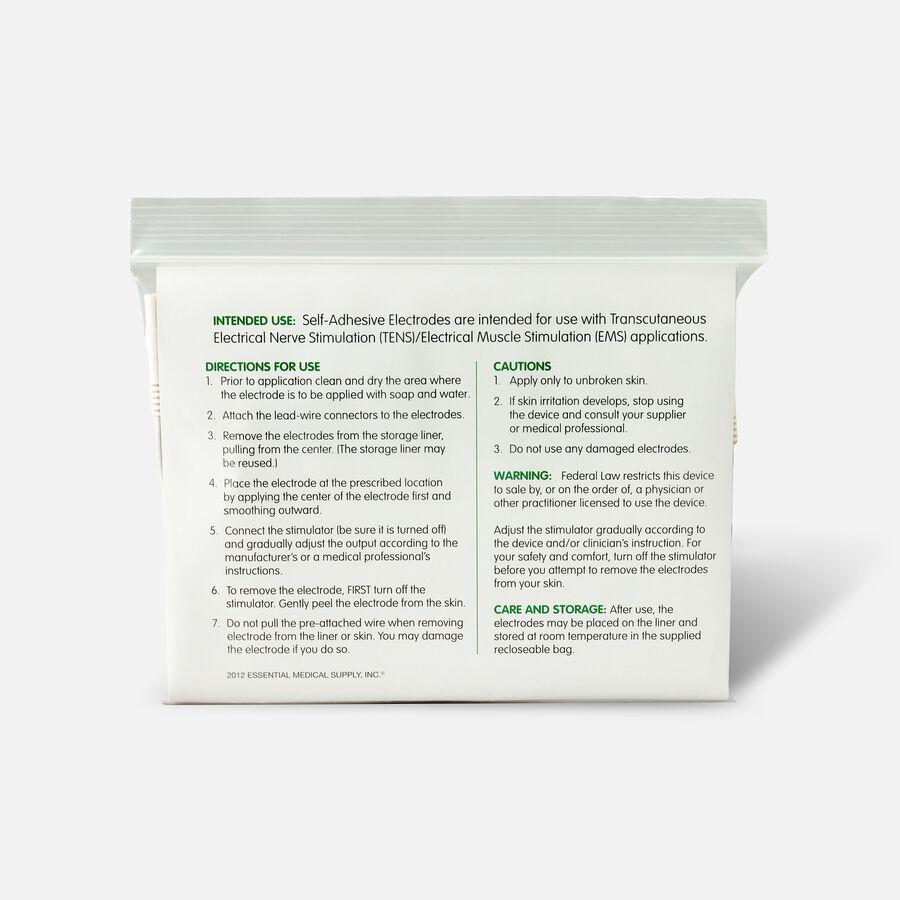 Essential Medical Supply Tens Electrode Set, , large image number 1