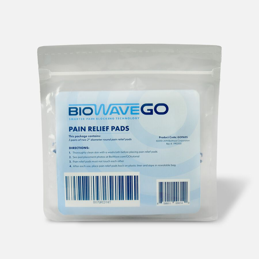 BioWaveGO Replacement Pain Relief Pads, , large image number 2
