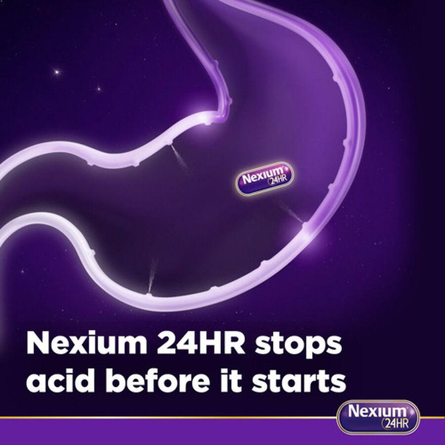 Nexium 24HR Clear Mini Capsules, 42 ct, , large image number 2