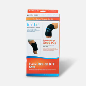Battle Creek Knee Pain Kit with Moist Heat and Cold Therapy