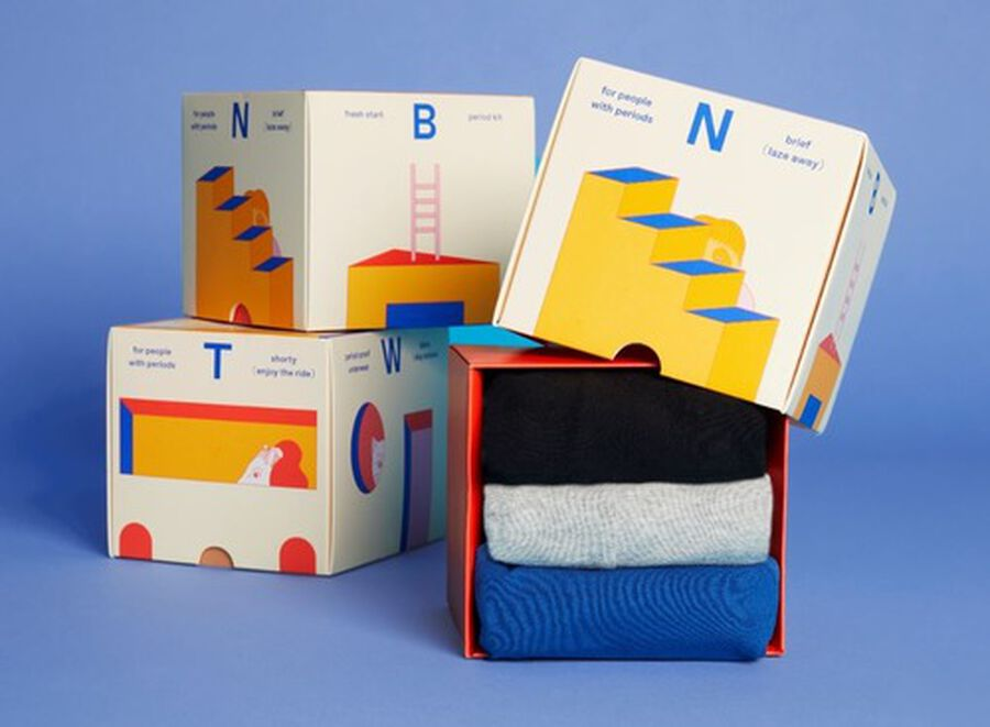 Thinx (BTWN) Fresh Start Period Kit, Super Basics Combo, , large image number 3