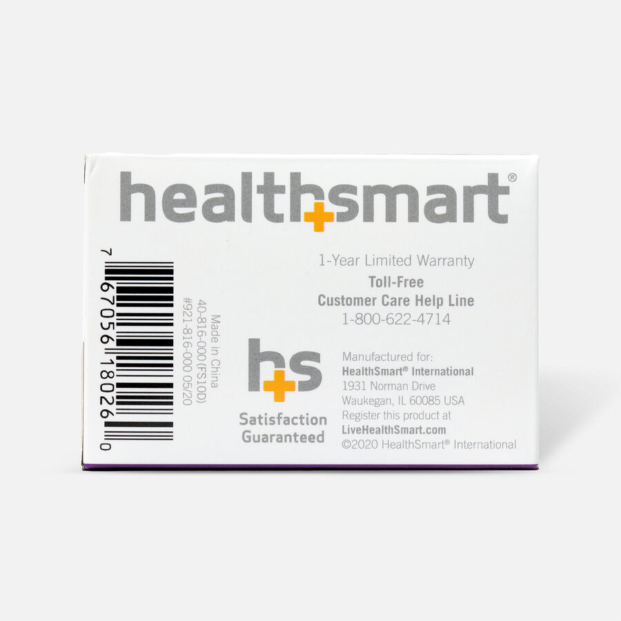 HealthSmart Pulse Oximeter Standard with Green LED Display, , large image number 2