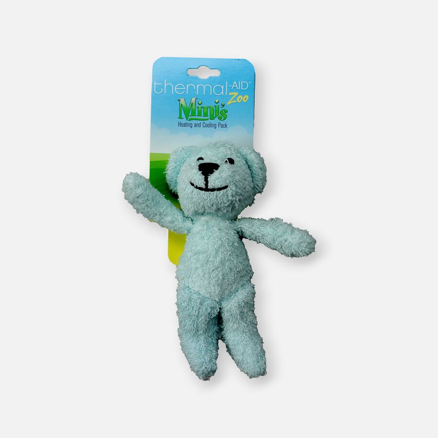 Thermal-Aid Mini Zoo Blue Bear Hot and Cold Pack, , large image number 0