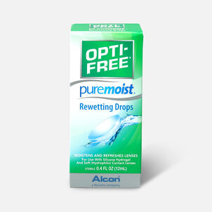 Opti-Free PureMoist Rewetting Drops, 12 ml