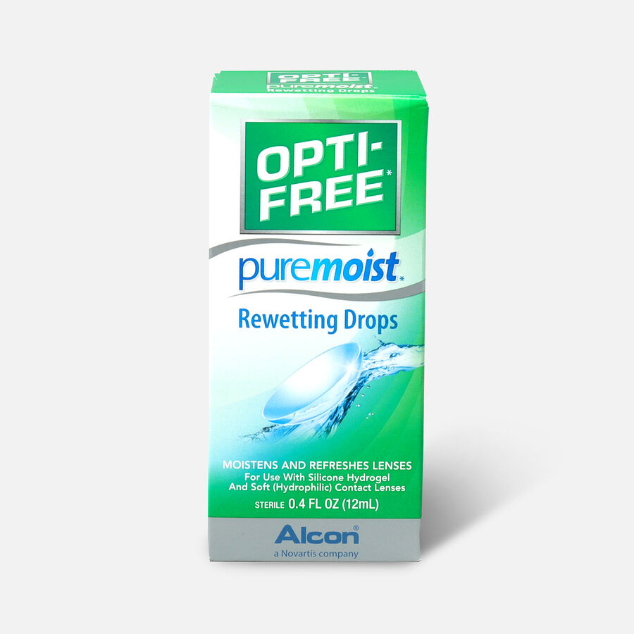Opti-Free PureMoist Rewetting Drops, 12 ml, , large image number 0
