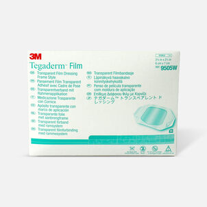 "Tegaderm Transparent Adhesive Film Dressing Picture Frame Style 2-3/8"" x 2-3/4"""
