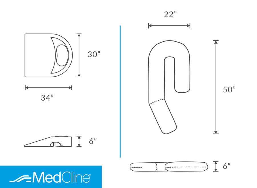 MedCline Shoulder Relief System, One Size, , large image number 1