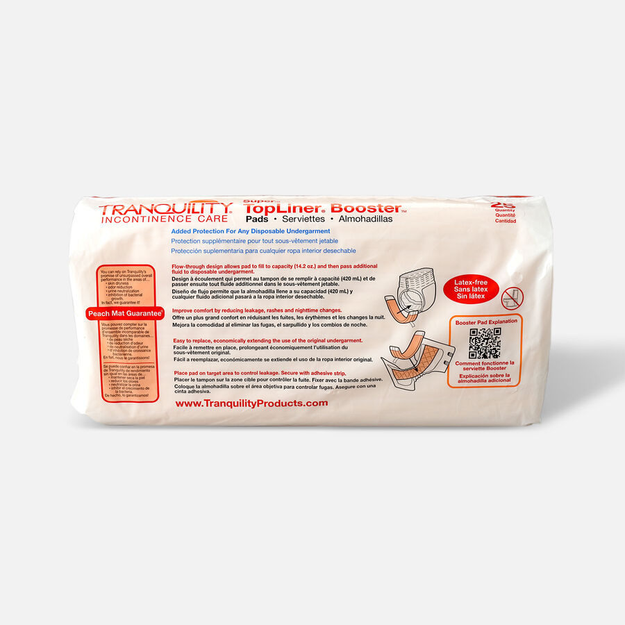 Tranquility TopLiner Booster Pad, 25ct, , large image number 3