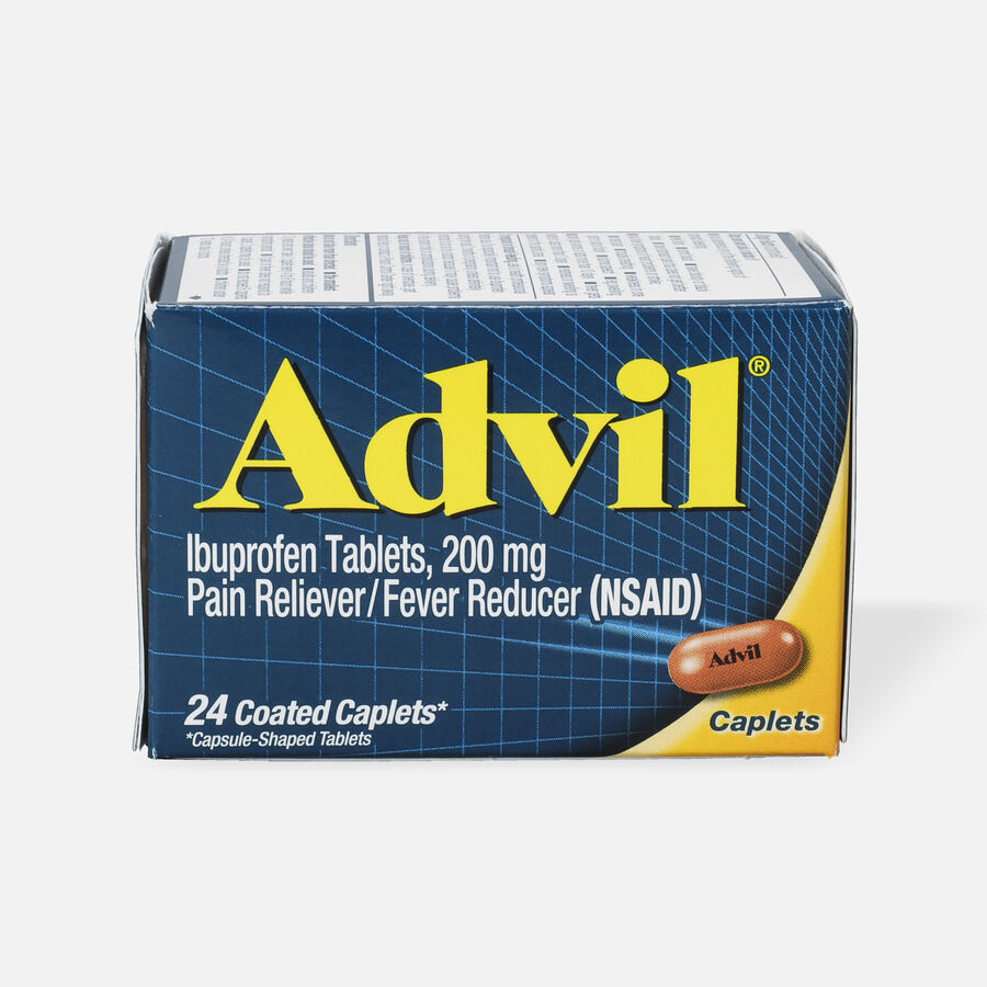 Advil Pain Reliever and Fever Reducer Coated Caplets, 200mg, , large image number 3