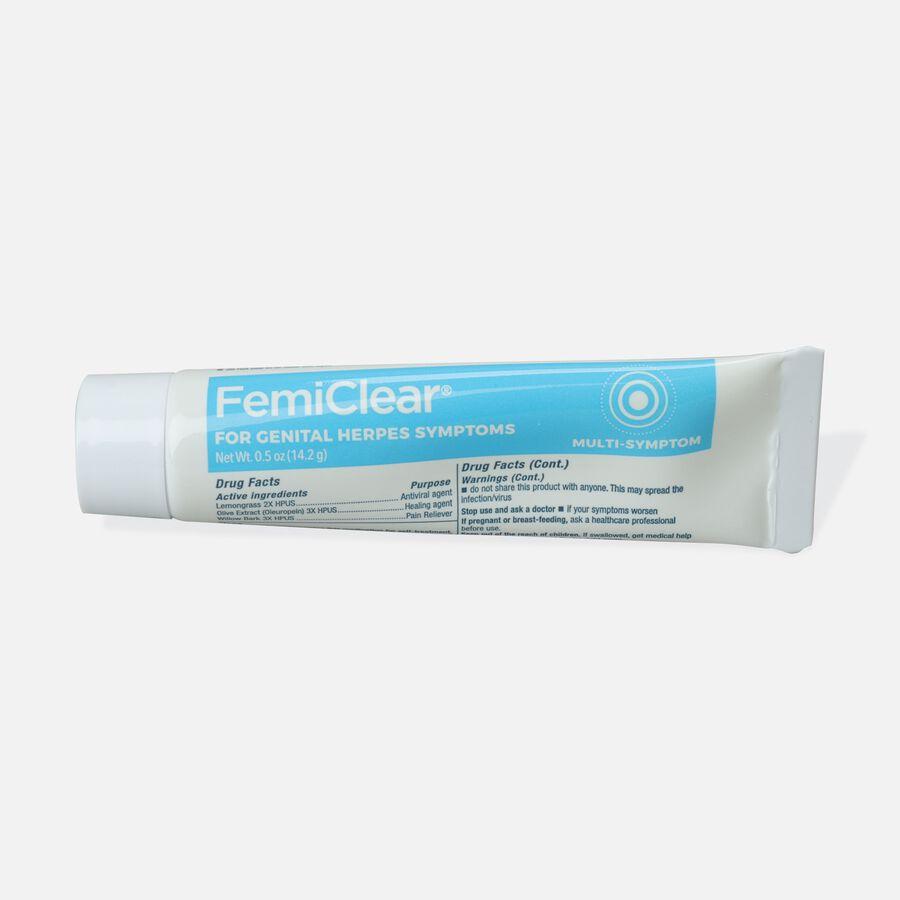 FemiClear Genital Herpes Ointment, Multi-Symptom, 0.5 oz, , large image number 1