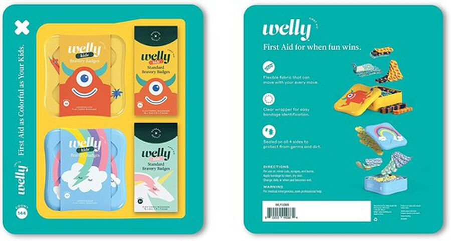 Welly Rainbow and Monster Bravery Badges Bundle, 144 pc, , large image number 13