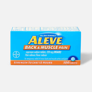 Aleve Back & Muscle Pain, 100ct