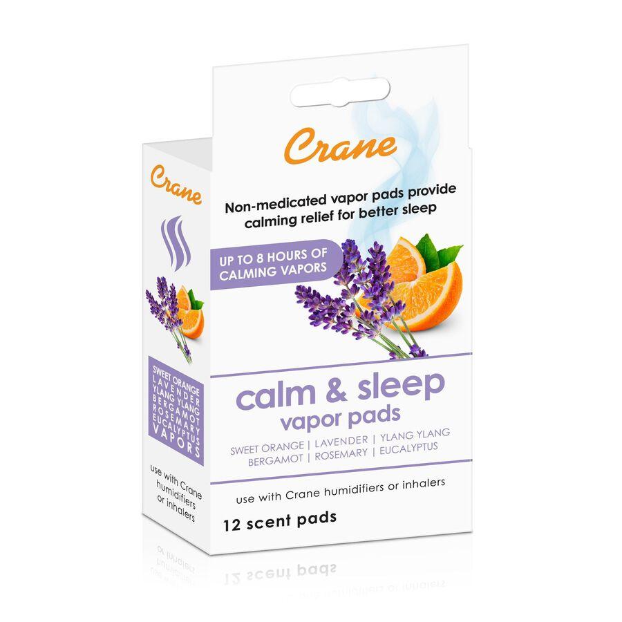 Crane Vapor Pads, Calm and Sleep, Large, 12 ct, , large image number 0