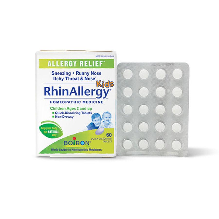 Boiron Rhinallergy Kids, 60 Tabs, , large image number 3