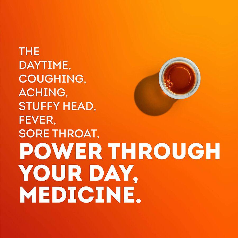 Vicks Dayquil Cold & Flu, 12 oz, , large image number 3