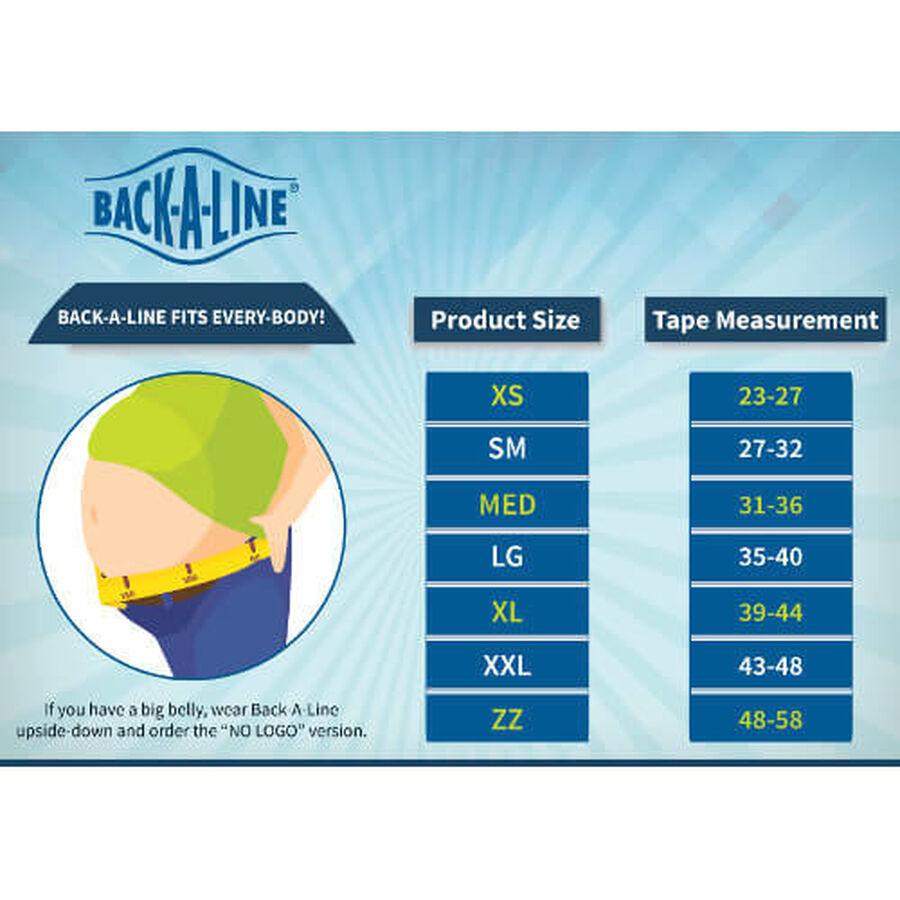 Back-A-Line Premier BMMI® Medical Magnets Lumbar Support, Black, , large image number 5