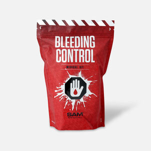 SAM Medical Bleeding Control Kit w/ Tourniquet, Basic, Non-Vacuum Packed