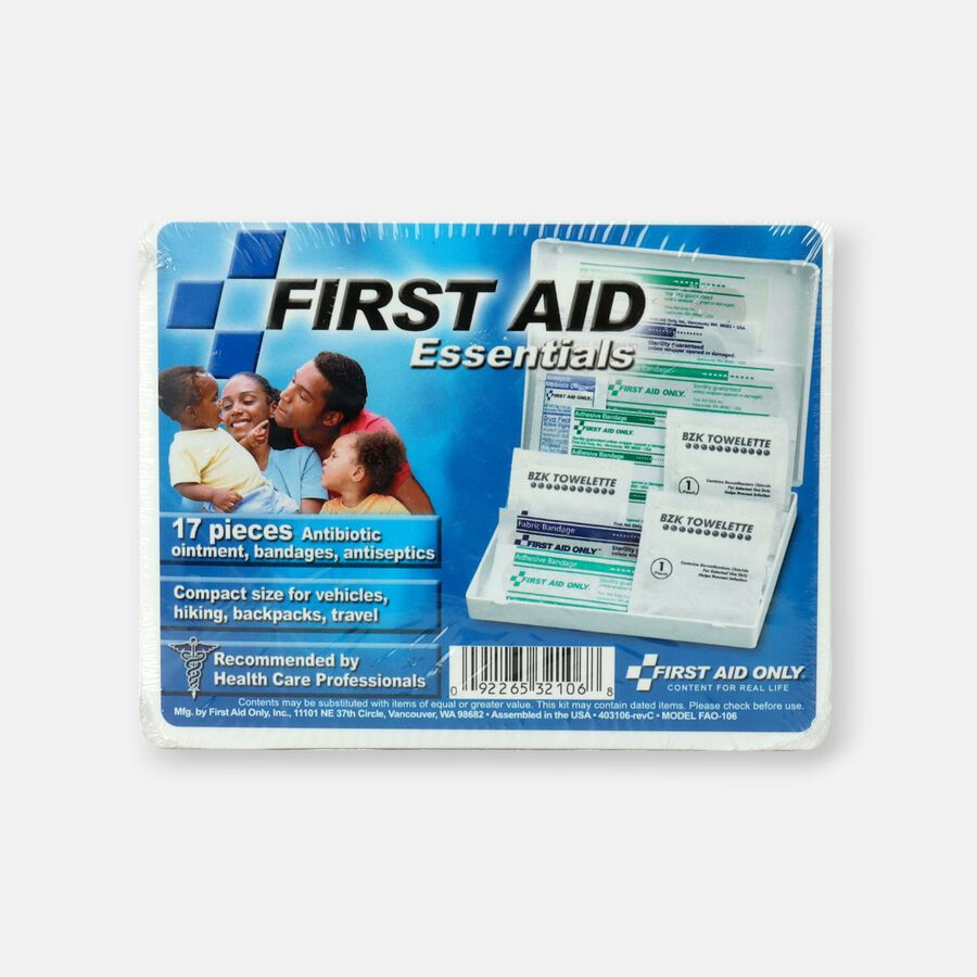 First Aid Only Plastic Travel First Aid Kit, , large image number 0