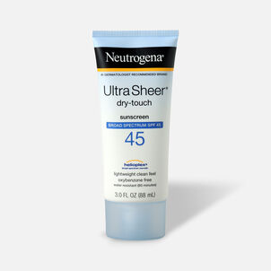 Neutrogena Ultra Sheer Dry-Touch Sunscreen, 3 oz
