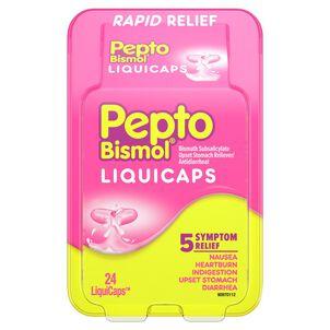 Pepto Bismol LiquiCaps, 24 ct