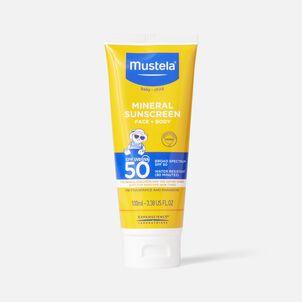Mustela Mineral Sunscreen Lotion, SPF 50, 3.38 oz