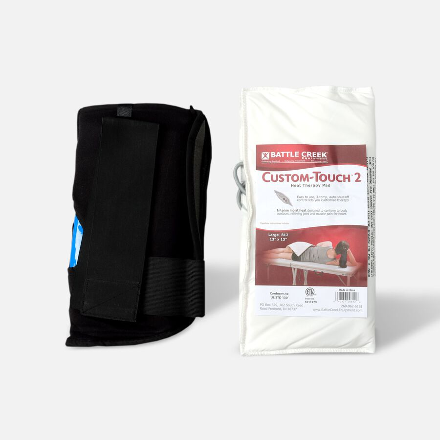 Battle Creek Back Pain Kit 2.0 with Electric Moist Heat and Cold Therapy, , large image number 0