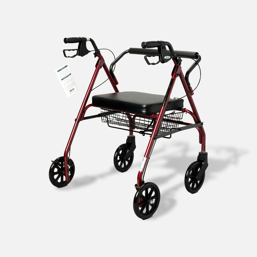 Drive Go-Lite Bariatric Rollator, , large image number 3
