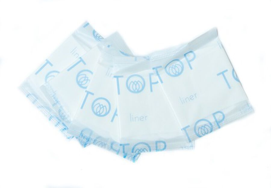 TOP Organic Cotton Ultra Thin Panty Liners, Light, 24 ct, , large image number 4