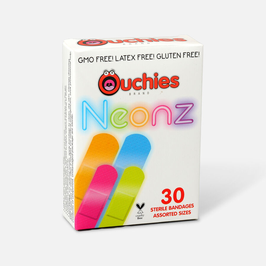 Ouchies Bandages Neon, , large image number 1