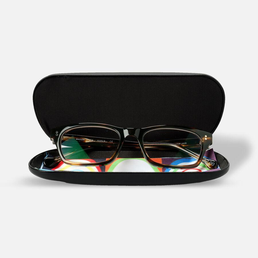 eyeOs Mason Tortoise Premium Reading Glasses, , large image number 3