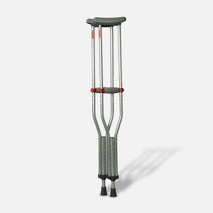 Medline Red Dot Button Crutches - 1 Pair