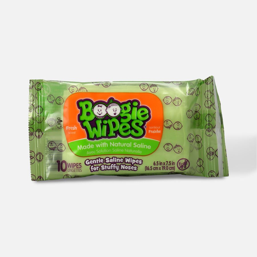 Boogie Wipes Saline Nose Wipes, , large image number 3