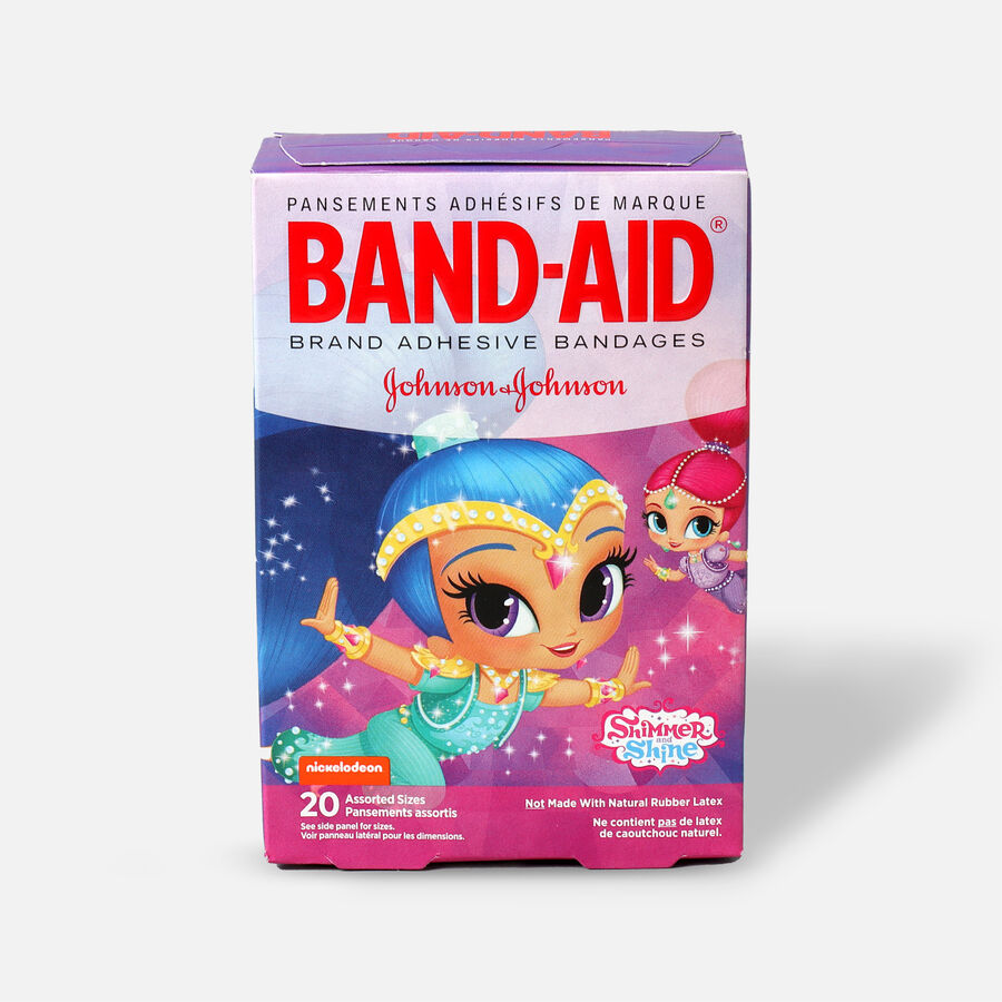 Band-Aid Adhesive Assorted Bandages, Nickelodeon Shimmer and Shine, 20 ct., , large image number 0