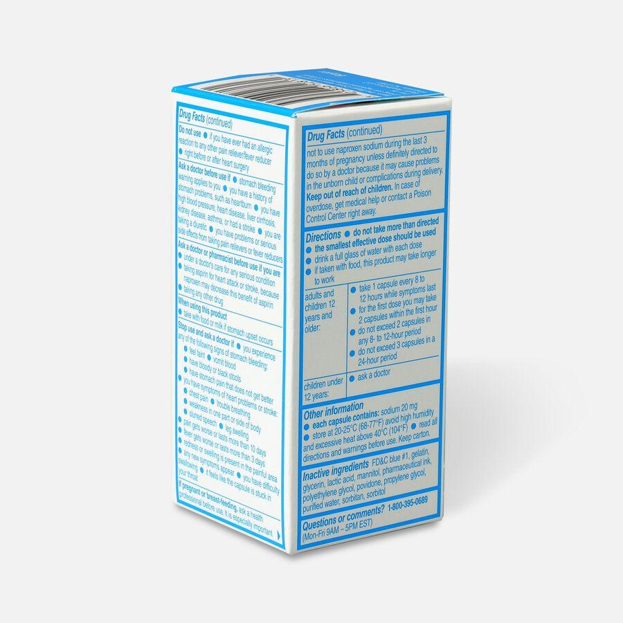 Aleve Liquid Gels Pain Reliever/Fever Reducer, 20 ea, , large image number 4