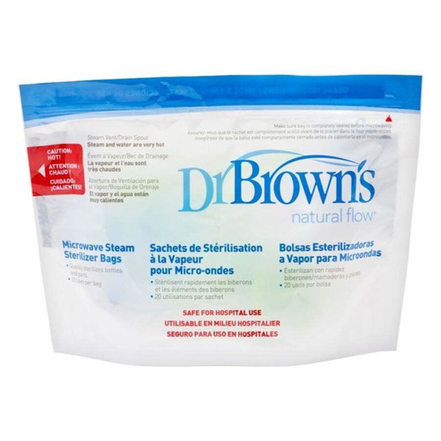 Dr. Brown's Microwave Steam Sterilizer Bags, , large image number 0