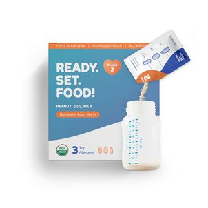 Ready, Set, Food! Early Allergen Introduction System for Babies 4+ Months, Stage 2