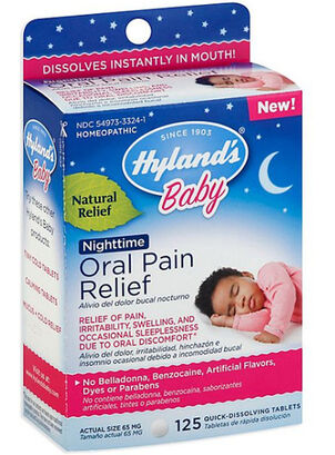 Hyland's Baby Oral Pain Relief Tablets, 125 ct