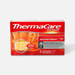 Thermacare Heat Wrap 8HR, Large/X-Large, 2 ct