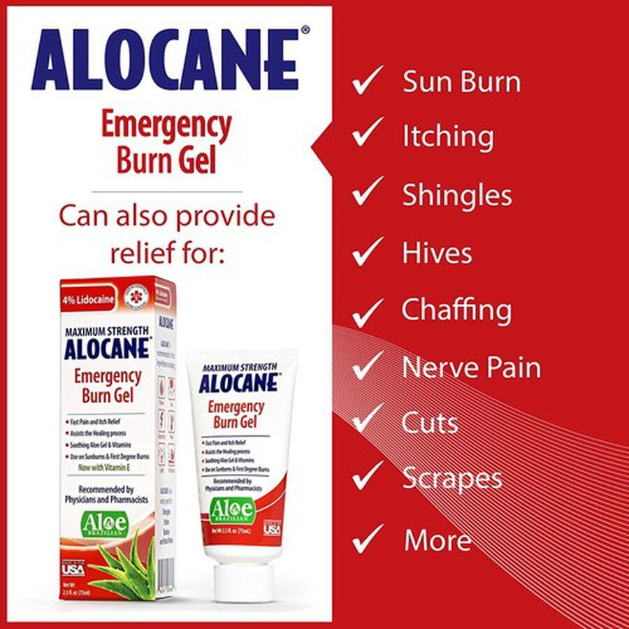 Alocane Maximum Strength Emergency Burn Gel, 2.5 oz, , large image number 6