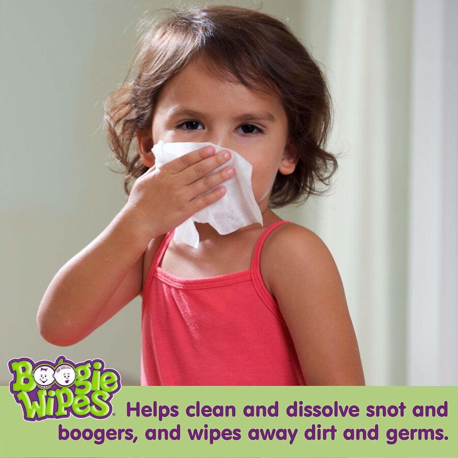 Boogie Wipes Lavender, Dual Pack, 2/45 ct, , large image number 3
