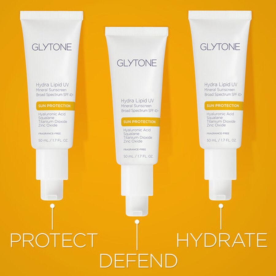 Glytone Hydra Lipid UV Mineral Sunscreen Broad Spectrum SPF 40+, , large image number 2