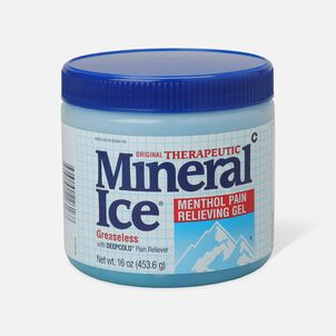 Mineral Ice Menthol Pain Relieving Gel, 16 oz