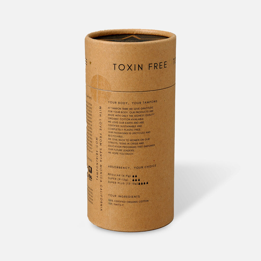 Tampon Tribe Organic Cotton Applicator Tampons, , large image number 2